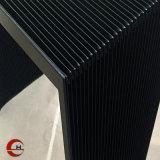 Novo tipo acordeão Flexível abaixo a capa protetora para máquinas CNC
