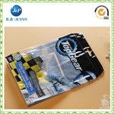 Saco de documentos de PVC claro personalizado personalizado (JP-plastic046)