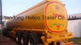 3 Fächer 42000 Liter Öltanker-LKW-halb Schlussteil-