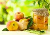 425g Eol에 있는 과일 통조림 황색 복숭아 반