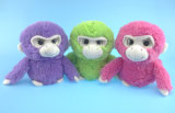 Macaco de pelúcia recheadas programável coloridos brinquedos
