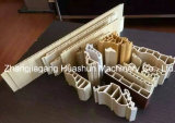 Machines en plastique d'extrudeuse de profil de construction de PVC pour le panneau de mur