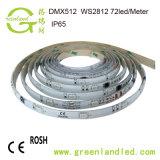 Preço por grosso de fábrica em Cores RGB 12V DCcom faixa de LED Micro RoHS HOMOLOGAÇÃO CE