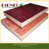 Linyi precio barato Film enfrenta/encofrados de madera contrachapada de contrachapado de madera contrachapada Marina/
