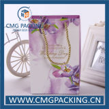 Flower romantico Printing Paper Bag con Handle (CMG-MAY-012)