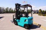 Barato preço 1,5 toneladas de capacidade de carga do carro elevador eléctrico com carregador de bateria