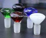 El agua de cristal alto Qualtiy al por mayor de pipa de fumar pipa Accesorios bol de vidrio de cristal brillante