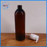 カスタマイズされた化粧品の包装のこはく色のプラスチック瓶およびびん
