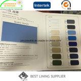 T400環境保護材料100ポリエステル伸張のライニングファブリック