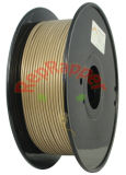 Wohles Coiled ABS 3.0mm Gold 3D Printing Filament