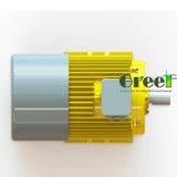 generatore magnetico di 10kw 300rpm, generatore magnetico permanente di CA di 3 fasi, uso dell'acqua del vento con il RPM basso