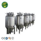 La fermentación de acero inoxidable de la máquina para fabricar cerveza