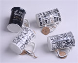 Nuevo diseño 14oz taza Mug de cerámica blanca fabricantes