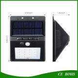 La parete solare impermeabile ecologica IP65 illumina la lampada solare del giardino esterno di 4LED/6LED 10LED/12LED/16LED/20LED