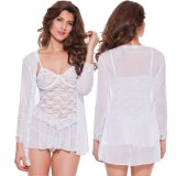 Hot Vente de lingerie sexy nuisette de conception de vêtements de nuit pour les femmes