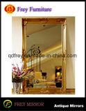 Het antieke Frame van de Spiegel van de Pijler van het Ontwerp Decoratieve Houten