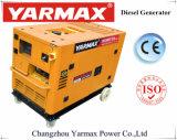 Yarmax 10kVA 디젤 엔진 발전기 고정되는 발전기 침묵하는 Genset Factroy 공급