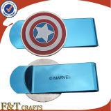 Metal hermoso de Engravable del regalo promocional calificado clips frescos del dinero con modificado para requisitos particulares