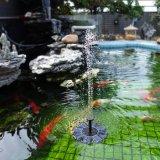 Decrative fontaine flottante de plein air eau solaire