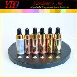 pour les produits de beauté liquides d'ombre d'oeil de point culminant fait sur commande d'amplificateur de Fx de couverture réglés