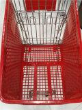 معياريّة بلاستيكيّة مغازة كبرى تسوق حامل متحرّك