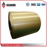 La couleur de mur extérieur de la bobine en aluminium à revêtement de toiture ou de la porte de feuille