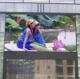 P6mm che fa pubblicità allo schermo di visualizzazione esterno del LED di colore completo di ventilazione