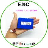 李イオンポリマーBattery7.4V 2000mAh極度の薄く再充電可能な李イオン電池袋
