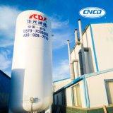 Tanque de armazenamento da isolação do vácuo do nitrogênio do oxigênio líquido