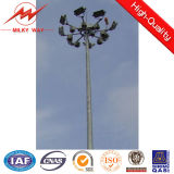Lifting Systems를 가진 15-30m Q345 Customized Galvanized High Mast 폴란드