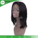Aofahairの高密度膚触りがよくまっすぐなかつら100%の人間の毛髪のかつら