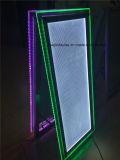 アクリルの額縁のライトボックスを立てる床