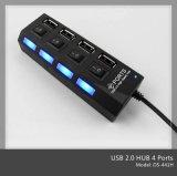 USB Hub con Switch (OS-441H)