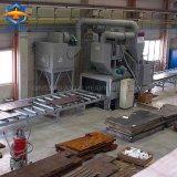 Plaque en acier de construction navale grenaillage Machine avec système de peinture Antai de Qingdao