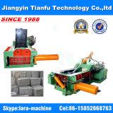 [125ت] ألومنيوم محزم فولاذ خردة بالة يجعل آلة