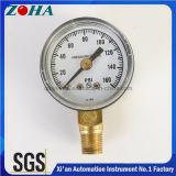 Mercado de América manómetro geral de uma pressão de 160 libras por polegada quadrada mini