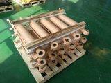 장비 Hyva 유형 피스톤 3/4/5 단계 액압 실린더를 내리는 병 잭 유압 콘테이너