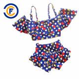 Nuovo Swimwear della ragazza della stampa del fumetto di disegno con Oeko-Tex