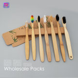 Wholesale Cepillo de Dientes de bambú, pack de 4, pack de 5, pack de 10 y más