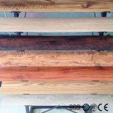 Conception personnalisée en usine nouveau grain PVC planchers de vinyle en plastique de tuiles de plancher