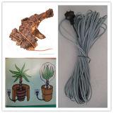 Câble chauffant de chauffage de saleté de Parasene 10m-60W pour des propagateurs de literie et de graine