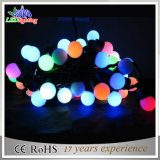 Ornamento de Natal ao ar livre Cadeado de borracha LED RGB String String Light