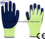 Cinda 13 Handschoenen van de Veiligheid van de Kreuk van het Latex van de Polyester van de Maat Palm Met een laag bedekte
