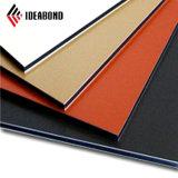 Ideabond 3-6mm Luxus-Goldfarben-zusammengesetztes Aluminiumpanel