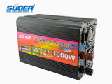 Suoer 1000W 24V all'invertitore modificato 220V di energia solare dell'onda di seno con il caricatore (HAD-1000D)