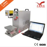 Fibra de marcadora láser portátil Metal Laser Marcado láser Dapeng Ce