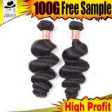 9Un grade Cheveux humains brésilien dans African American