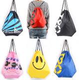 Venda Por Atacado Vestuário Personalizado e Ombros Drawstring Waterproof Beach Bag