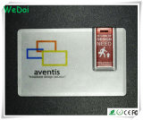Lecteur flash USB transparent de carte avec le logo d'OEM (WY-C30)