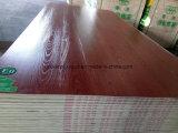 la double couleur en bois dégrossie des graines de 18mm gravent le contre-plaqué stratifié par mélamine